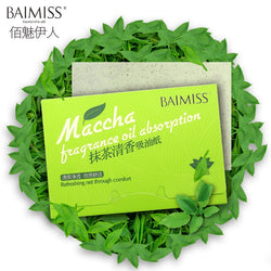 Matcha Green Tea Oil Absorbing Sheets - Good For You Beauty