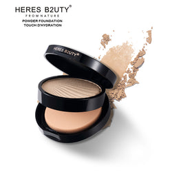 Waterproof Pressed Powder Moisturizing Brightening Foundation - Good For You Beauty
