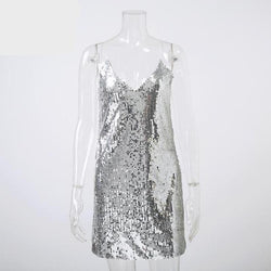 Silver Sequins Dress - Good For You Beauty