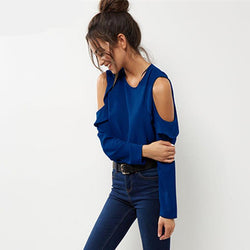 Summer Off Shoulder Shirt - Good For You Beauty