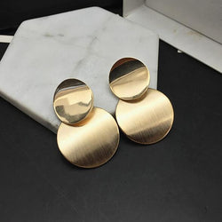 Circle Metal Earring - Good For You Beauty