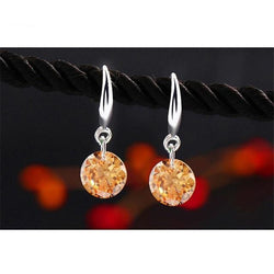 Silver Plated Crystal Earring - Good For You Beauty