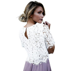 Crochet Vintage Top - Good For You Beauty