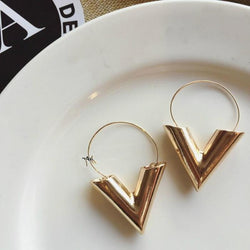 Simple Metal Earring - Good For You Beauty