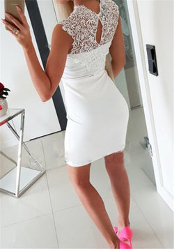 Slim Fit Lace Dress - Good For You Beauty