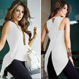 Irregular O-Neck Woman's Blouse - Good For You Beauty