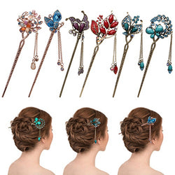 Crystal Hairpin Headdress - Good For You Beauty