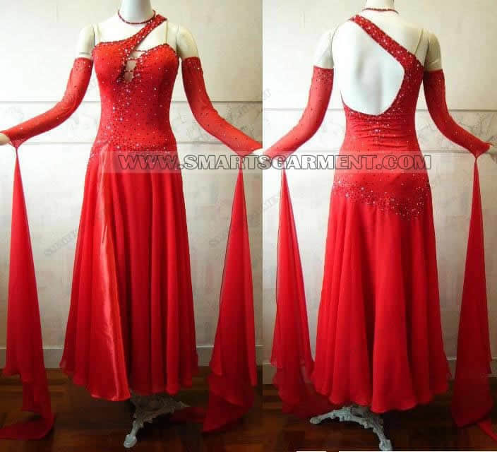 Inexpensive ballroom dancing clothes,big size ballroom competition dance garment,dance team attire