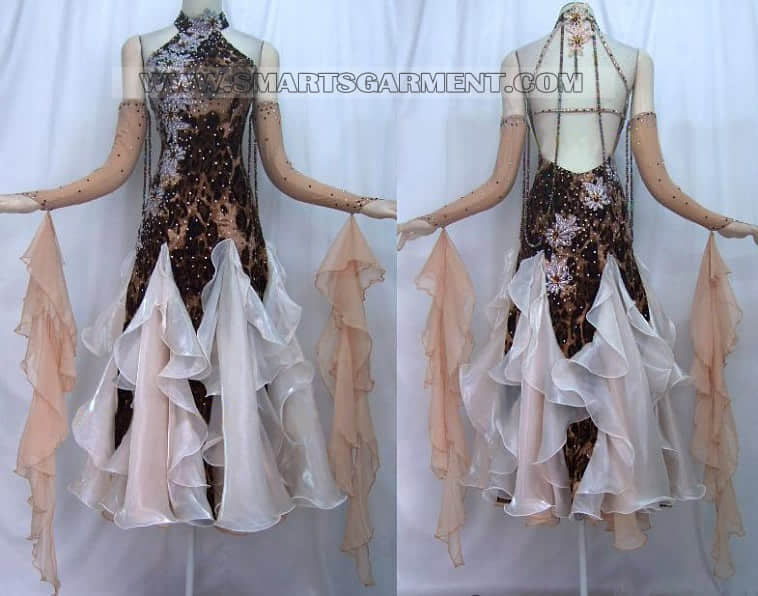 ballroom dance apparels for kids,big size ballroom dancing gowns,hot sale ballroom competition dance gowns
