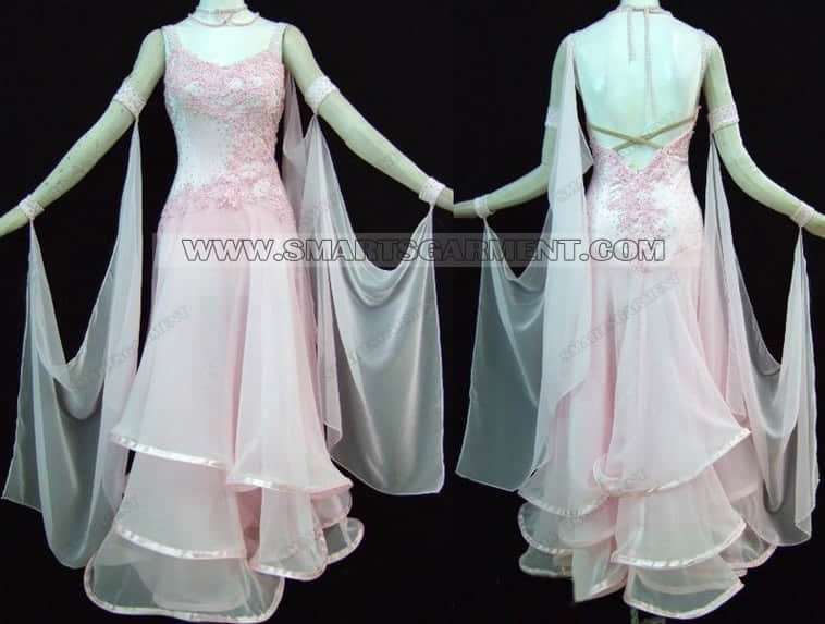 quality ballroom dancing clothes,hot sale ballroom competition dance clothes,Foxtrot clothing