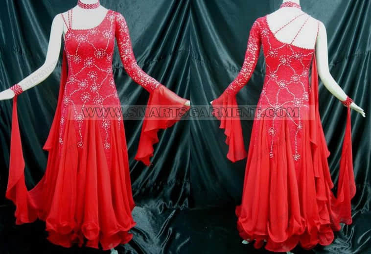 personalized ballroom dancing clothes,hot sale ballroom competition dance garment,social dance costumes