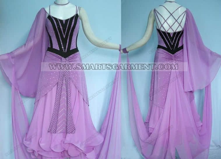 ballroom dancing apparels for competition,customized ballroom competition dance attire,hot sale ballroom competition dance performance wear