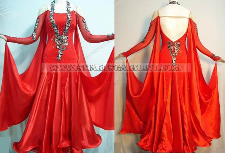 customized ballroom dance apparels,customized ballroom dancing dresses,brand new ballroom competition dance dresses