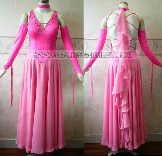 brand new ballroom dancing apparels,customized ballroom competition dance costumes,ballroom dancing performance wear for competition