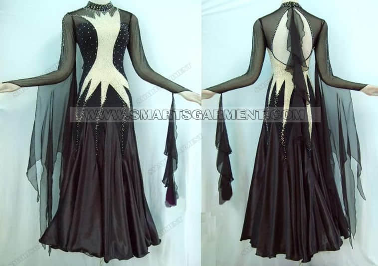 ballroom dance apparels for competition,big size ballroom dancing garment,Inexpensive ballroom competition dance garment