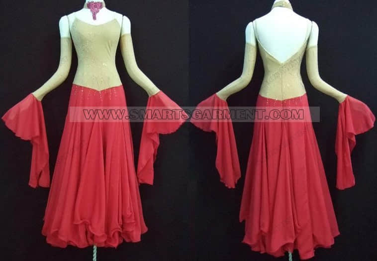 tailor made ballroom dance apparels,ballroom dancing garment for women,big size ballroom competition dance costumes