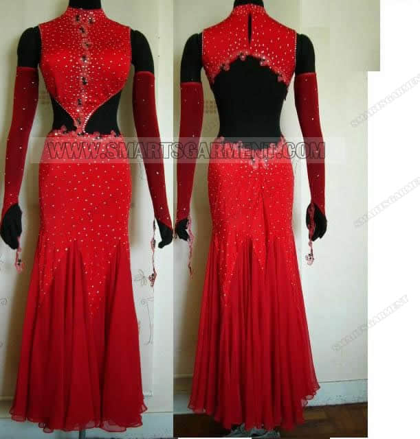 hot sale ballroom dance clothes,customized ballroom dancing clothing,tailor made ballroom competition dance clothing