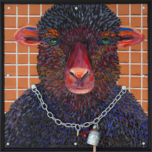 Zoomorphism Art: Black Sheep