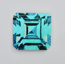 Load image into Gallery viewer, 'Kojin' Asscher-cut Emerald