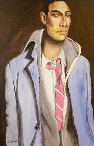 Man with a Pink Tie