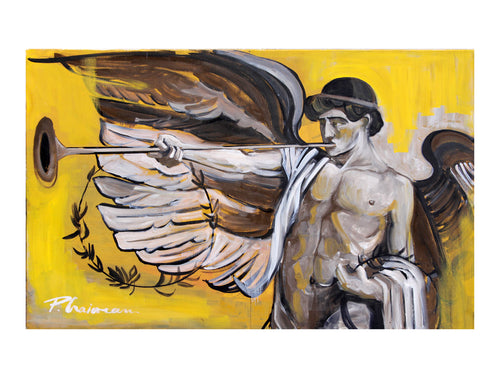 Limited edition Giclée print signed and numbered  2/20- Paula Craioveanu - Winged Genius