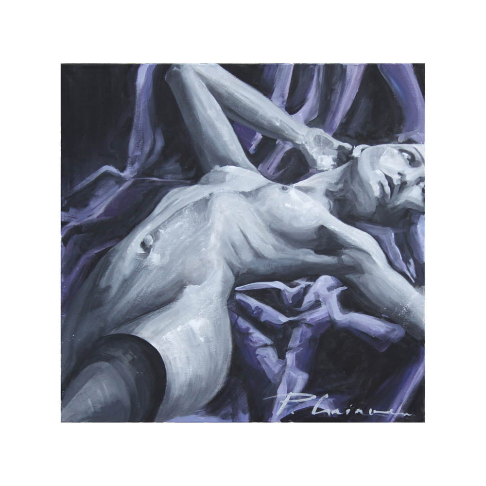 * Nude - Fine Art Limited edition Giclée print signed and numbered 2/20- Paula Craioveanu