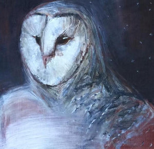 Barn Owl, Self Portrait