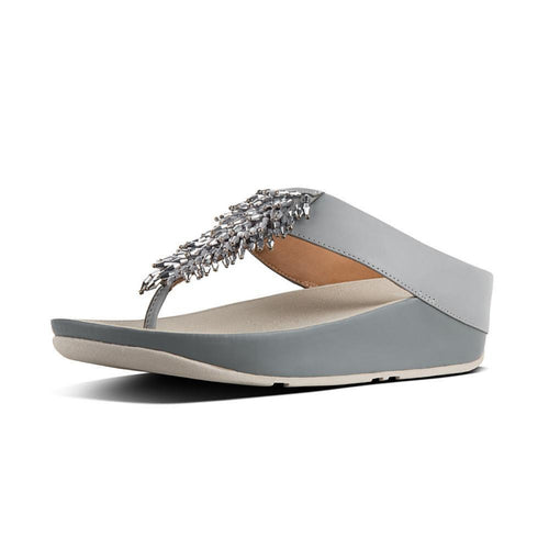 FitFlop Rumba Toe Thong Dove Blue