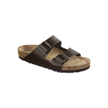 Load image into Gallery viewer, Birkenstock Arizona Soft Footbed Brown Leather (N)(S)