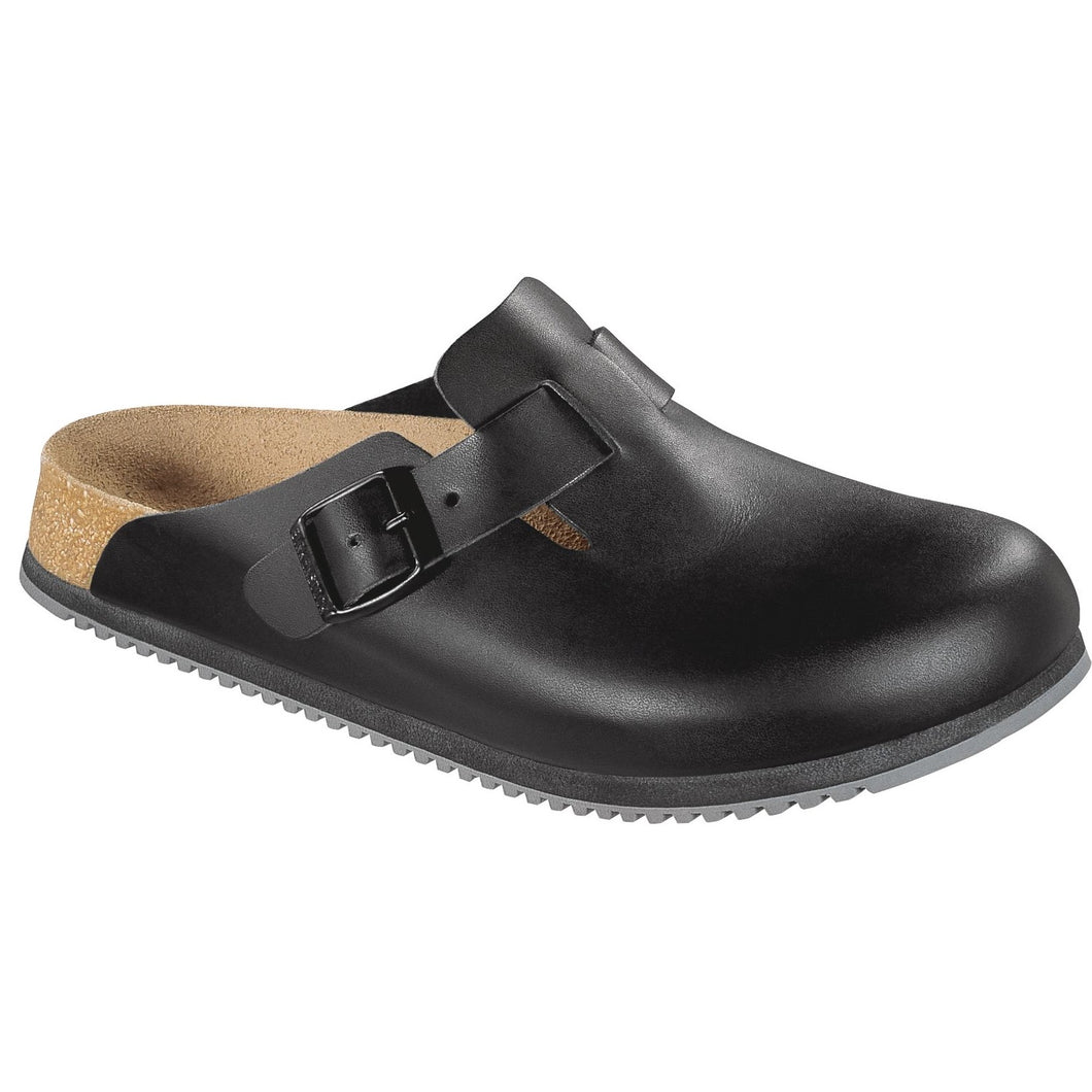 Birkenstock Boston SuperGrip Leather (W)(R)