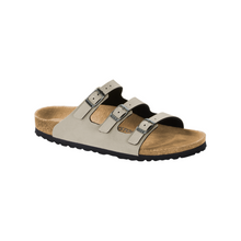 Load image into Gallery viewer, Birkenstock Florida Fresh Pull Up Stone Birko-Flor (N)(R)