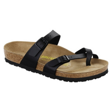 Load image into Gallery viewer, Birkenstock Mayari Black Birko-Flor (N)(R)