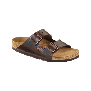 Birkenstock Arizona Soft Footbed Dark brown Amalfi Leather (W)(S)