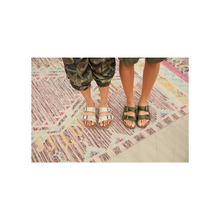 Load image into Gallery viewer, Birkenstock Arizona Desert Soil Camo Green Birko-Flor (N)(R)