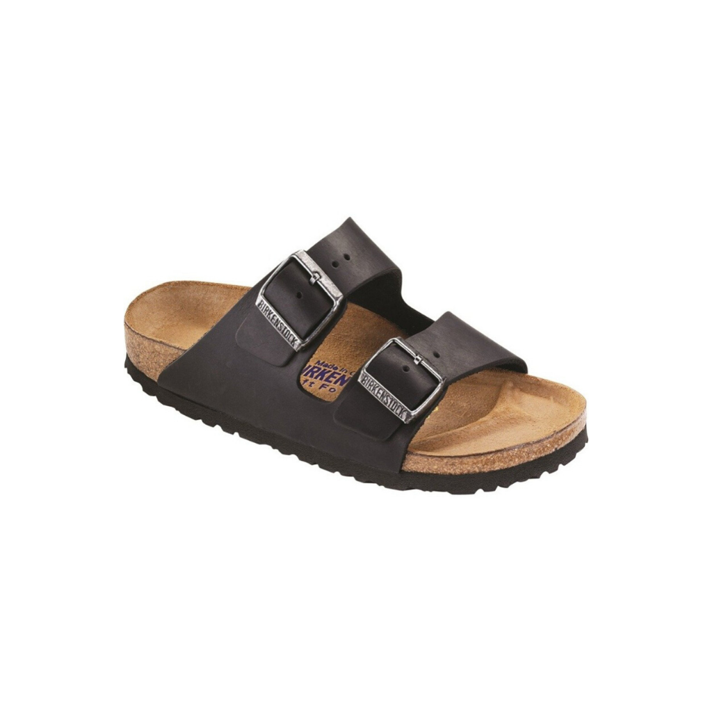 Birkenstock Arizona Black Leather (W)(R)
