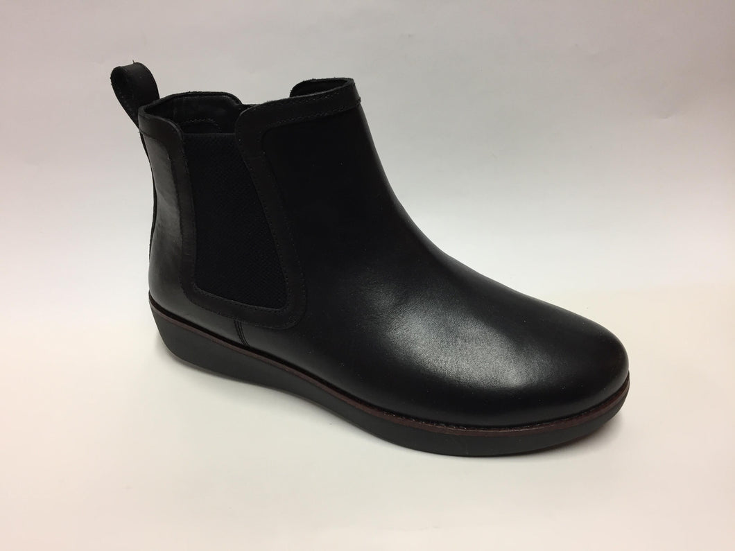 FitFlop Chai Chelsea Black Boot