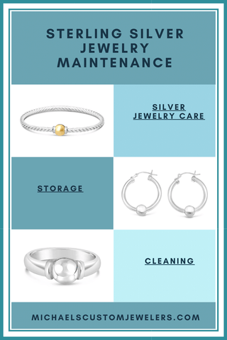 sterling silver jewelry care and maintenance