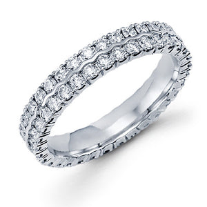 Eternity Band - 14k Gold/Diamonds #6559