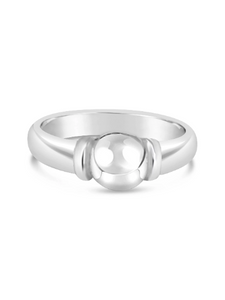 Cape Cod Beach Ball Ring - Solid Silver
