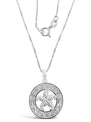 Cape Cod Starfish Necklace - Solid Silver