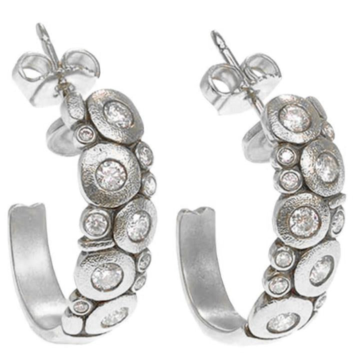 E-123PD Alex sepkus candy earrings large platinum diamonds