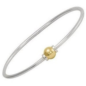 cape cod beach ball bracelet 14k gold 925 silver