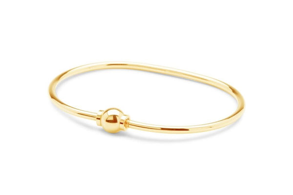 14k gold cape cod beach ball bracelet screwball solid gold