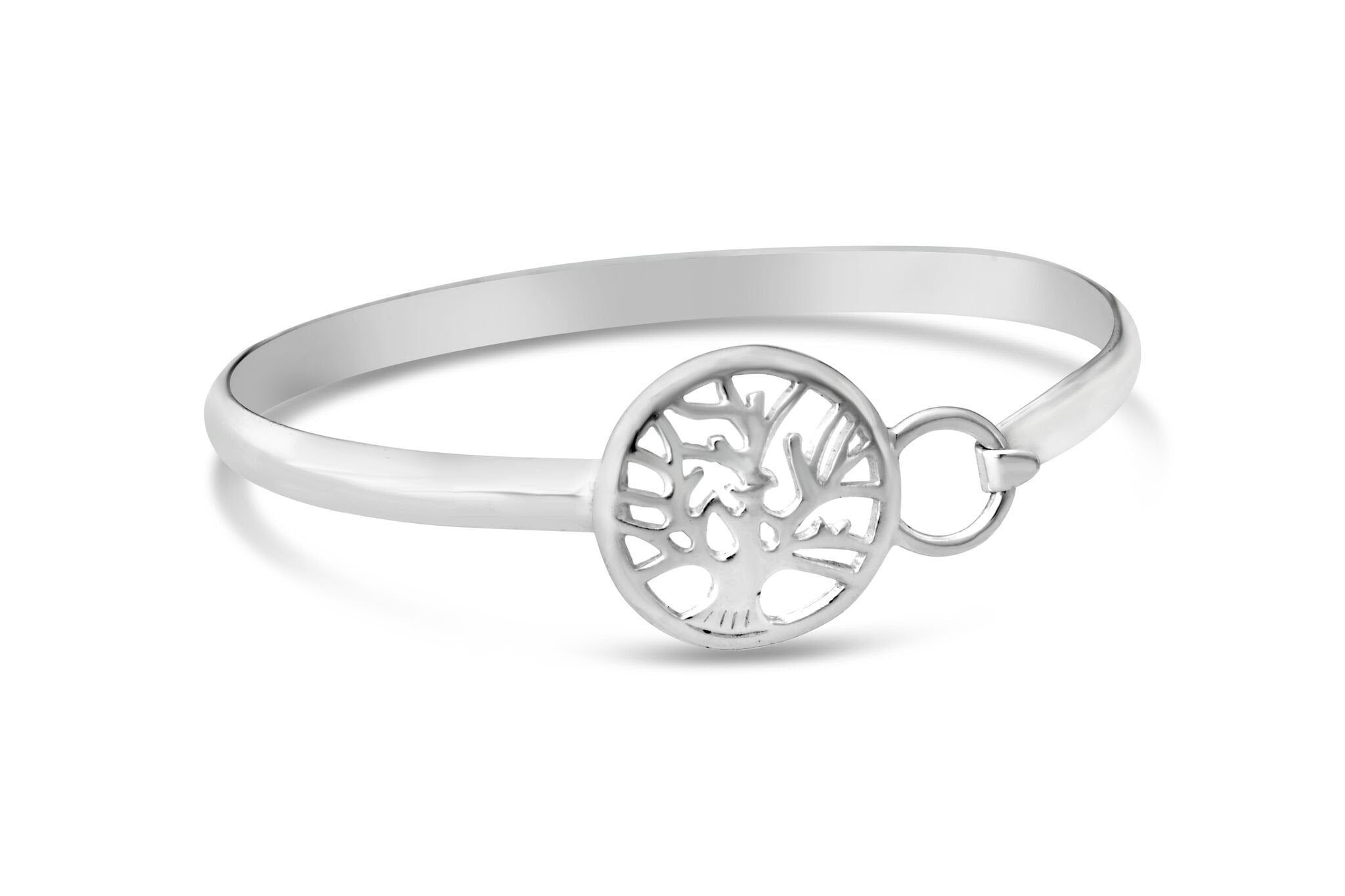 Tree of Life Bracelet - Solid Silver
