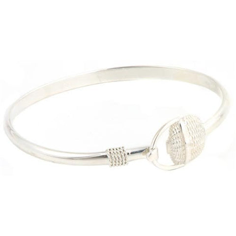 Nantucket Basket Bracelet - Solid Silver