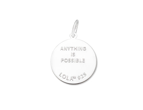 anything is possible queen bee periwinkle lola pendant