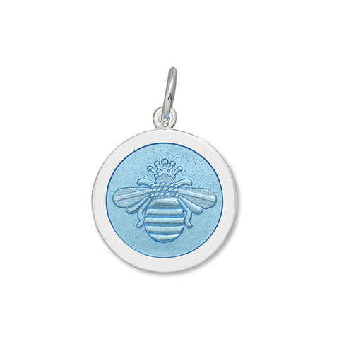 lola bee pendant light blue medium