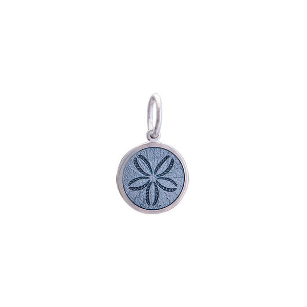 lola sand dollar pendant pewter mini