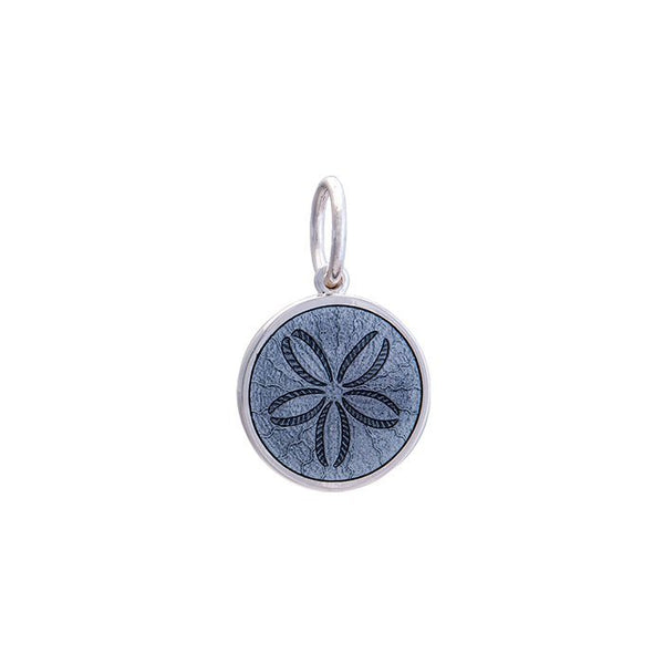 lola sand dollar pendant pewter small