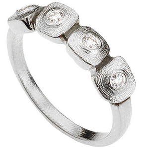 R-212PD alex sepkus dancing squares ring platinum diamonds
